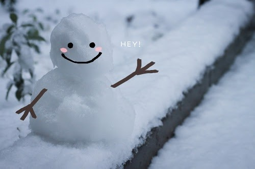 「冬」「文字入り」「雪」「雪だるま」などがテーマのフリー写真画像