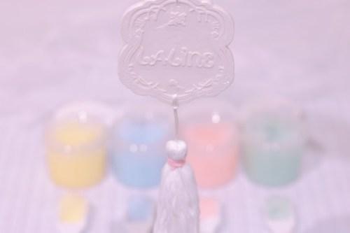 フォルムがLALINE(ラリン)のロゴで可愛い!セラミックフレグランス