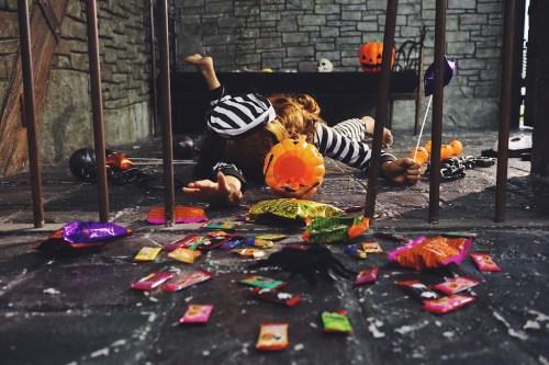 #炫富挑战!今年のがりどろハロウィンは、おしゃれで可愛い?牢屋で囚人に挑戦してみたYO♡