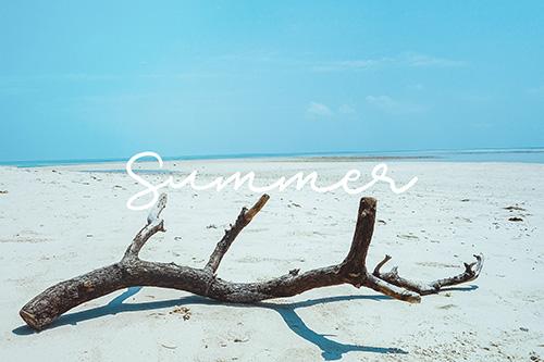 フリー写真素材:写真スタンプ:『SUMMER』その7