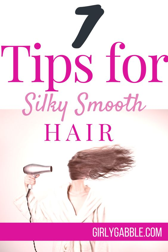 how to get silky smooth hair