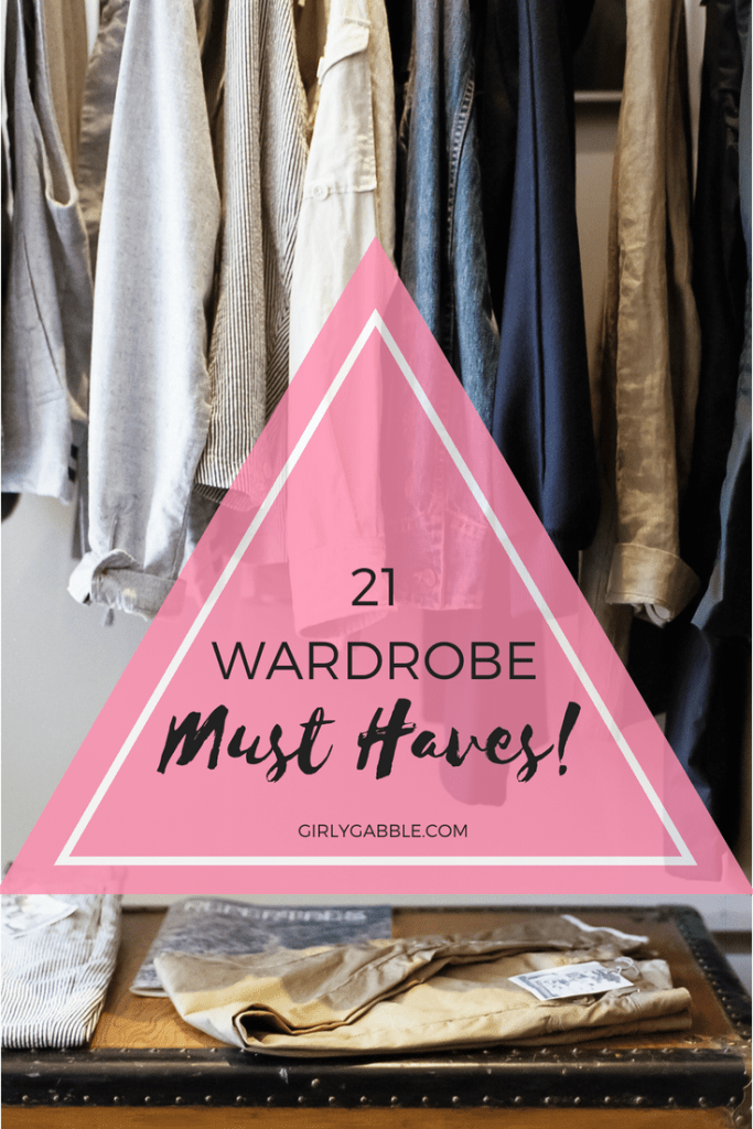 wardrobe must haves