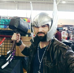 What's a trip to a convention without some Thor?