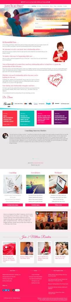 Relationship Coaching Website