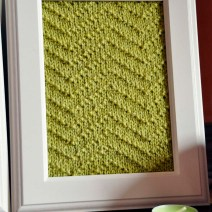 Knitted Wall Art Girly Knits