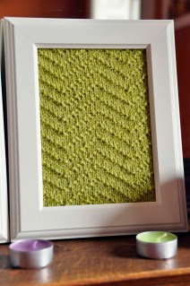 """Aztec Textures"" Knitted Wall Art"