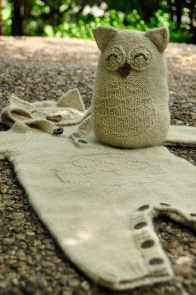 """Owl in One"" Baby Onesie and Toy"