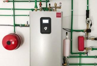 Maquina de geotermia con frío pasivo en Guadarrama