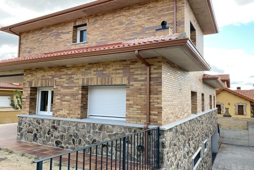 Casa con geotermia en Guadarrama