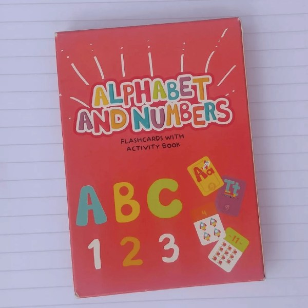 Alphabet And Numbers - Barco de Papel - Producto