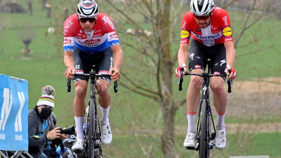 Il Giro delle Fiandre, Asgren e la lezione della polenta