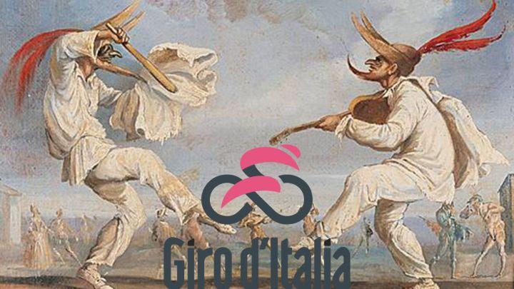 Il Giro d'Italia è un commedia dell'arte