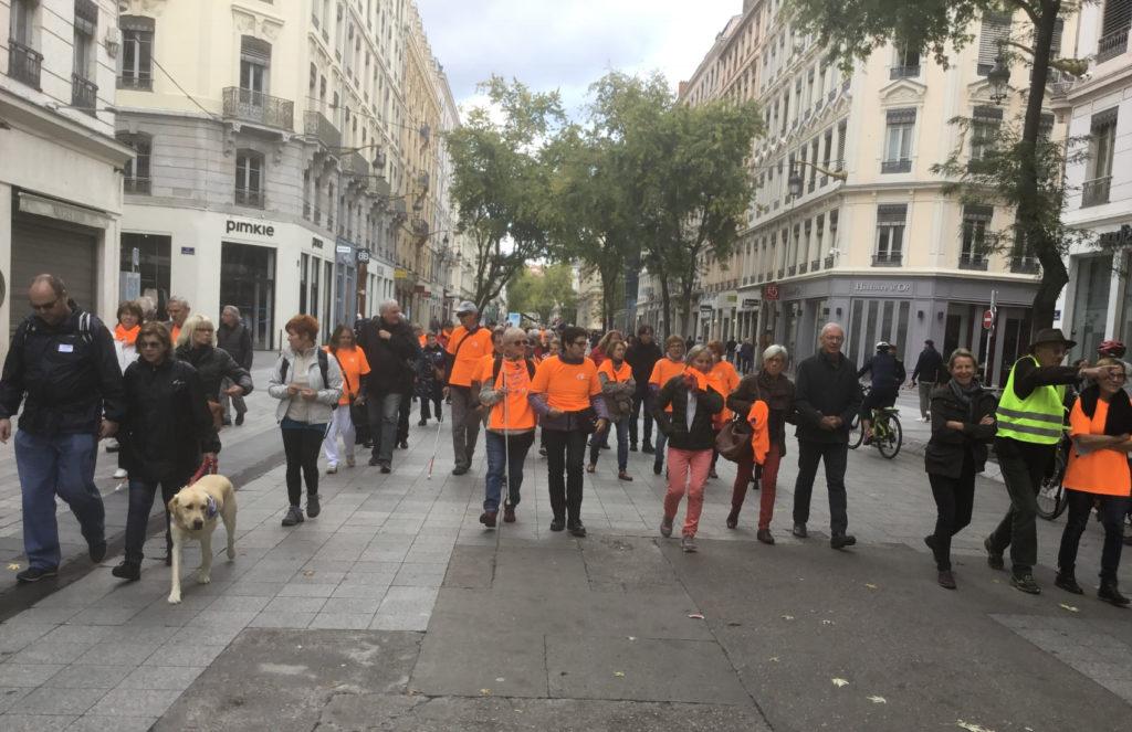 Marche Pour La Vue 2017 Avec Des Rsidents Des Girondines