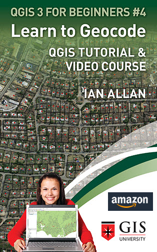 Get this QGIS tutorial as a Kindle book on Amazon