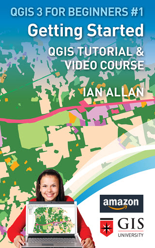 Get this QGIS tutorial ad a Kindle book or paperback on Amazon