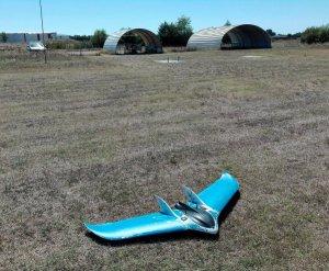 Drone aile volante de GISCAN