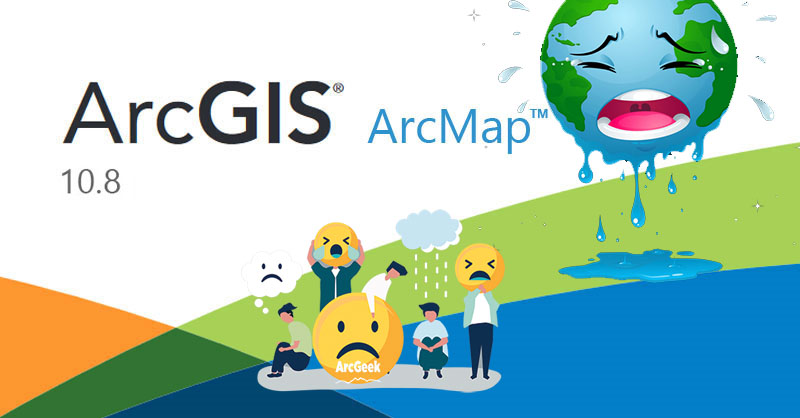 End of ArcMap