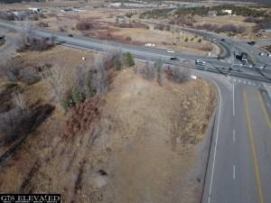 US 160 & 3 Springs Aerial Lot 2 View