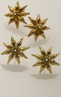 Star Anise Suite, 18k with Diamonds