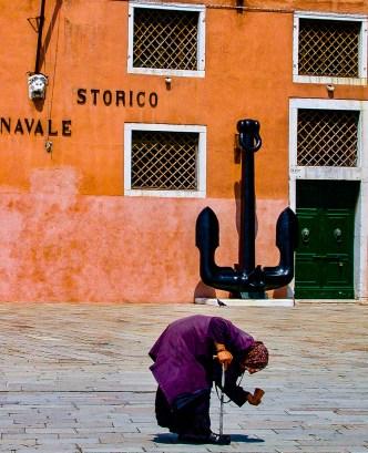 Beggar Woman, Venice, Italy