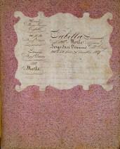 Tabelle, Archivo Storico, Parma, Italy