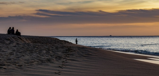 Fisherman at Twilight, Cabo San Lucas