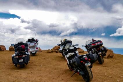 Motorcycles, Pikes Peak, CO