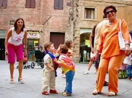 Palio Children, Siena, Italy