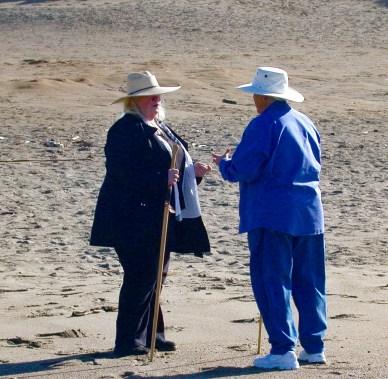 Two Women Talking, Pt. Reyes