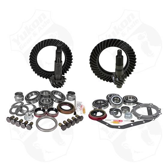 Yukon Gear & Install Kit package for Reverse Rotation Dana