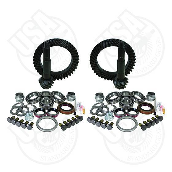 USA Standard Gear & Install Kit package for Jeep TJ