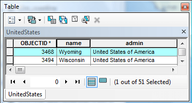 Wyoming polygon record