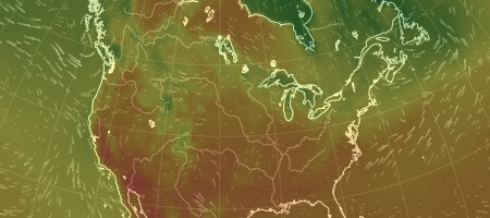 Earth Nullschool: Global Wind & Temperature Beautiful Weather Map