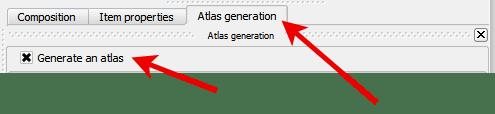 QGIS Atlas Generation