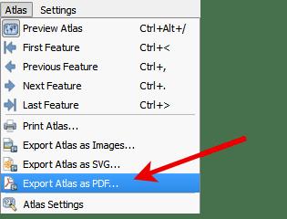 Export Atlas as PDF