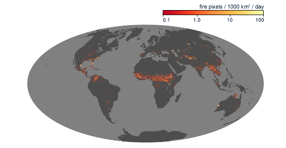 Forest Fires NASA