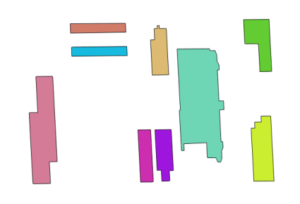 vectorized buildings