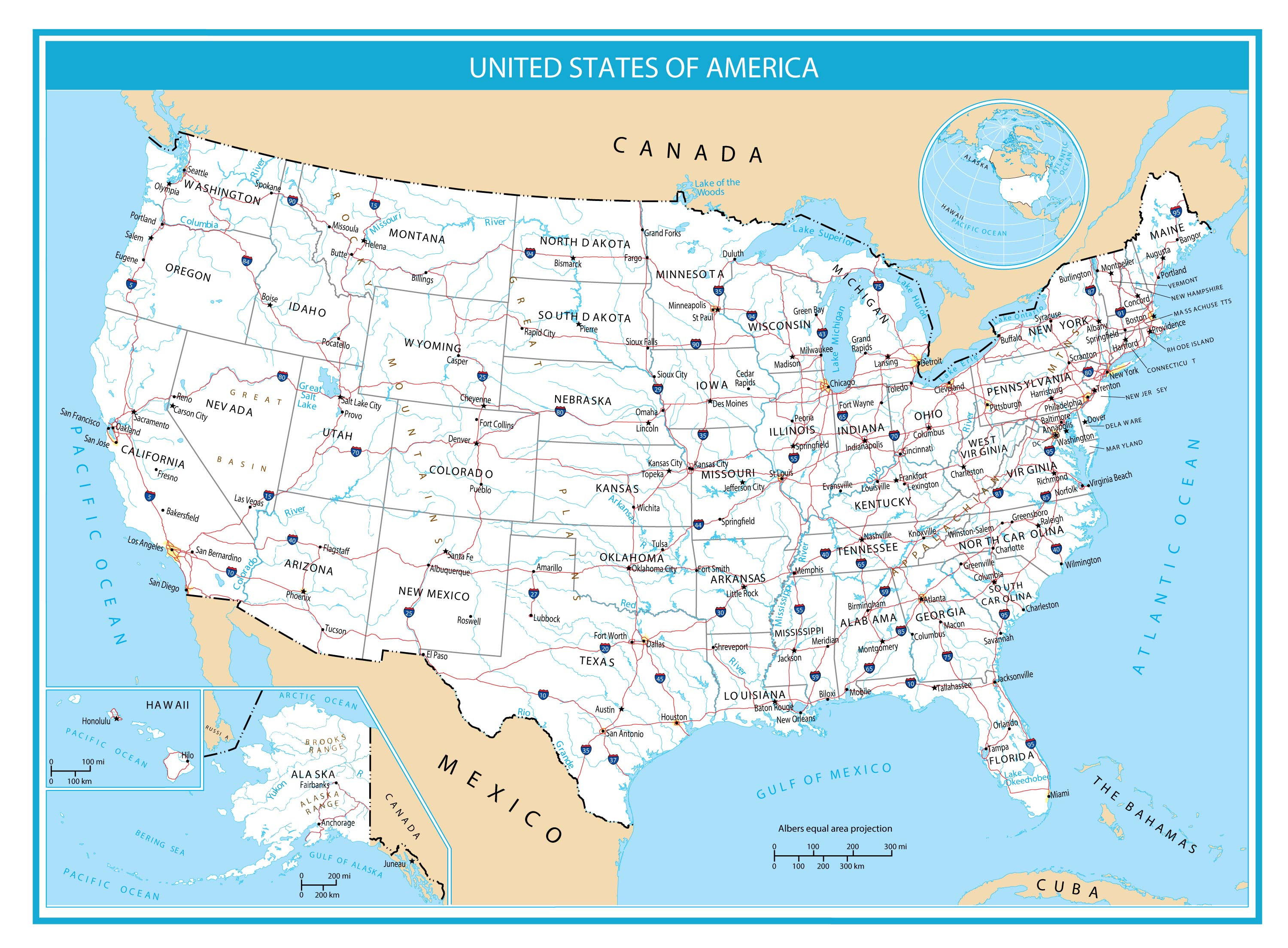 The United States Map Collection Gis Geography