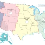Us Time Zone Map Gis Geography