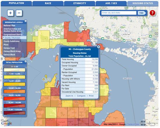 Census 2010 Demographic Profile Data