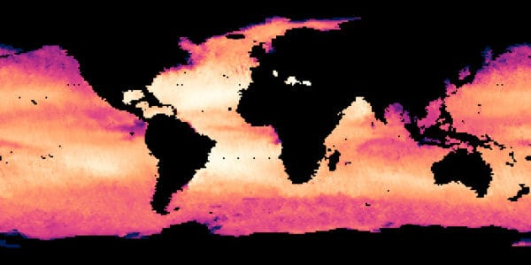 World Salinity levels for July of 2013.