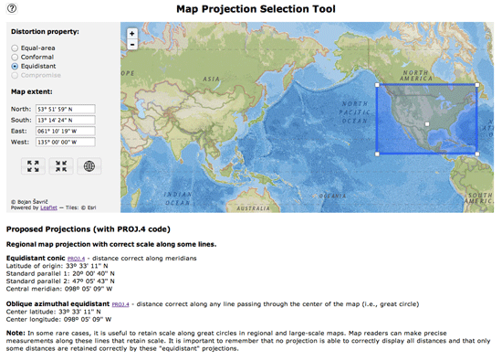 map-projection-tool