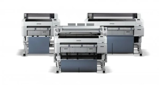 Epsom's SureColor T-Series of large format color printers.