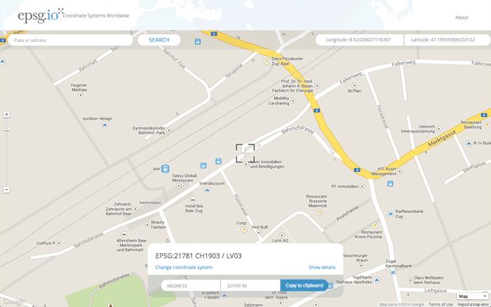 epsg-coordinates-map