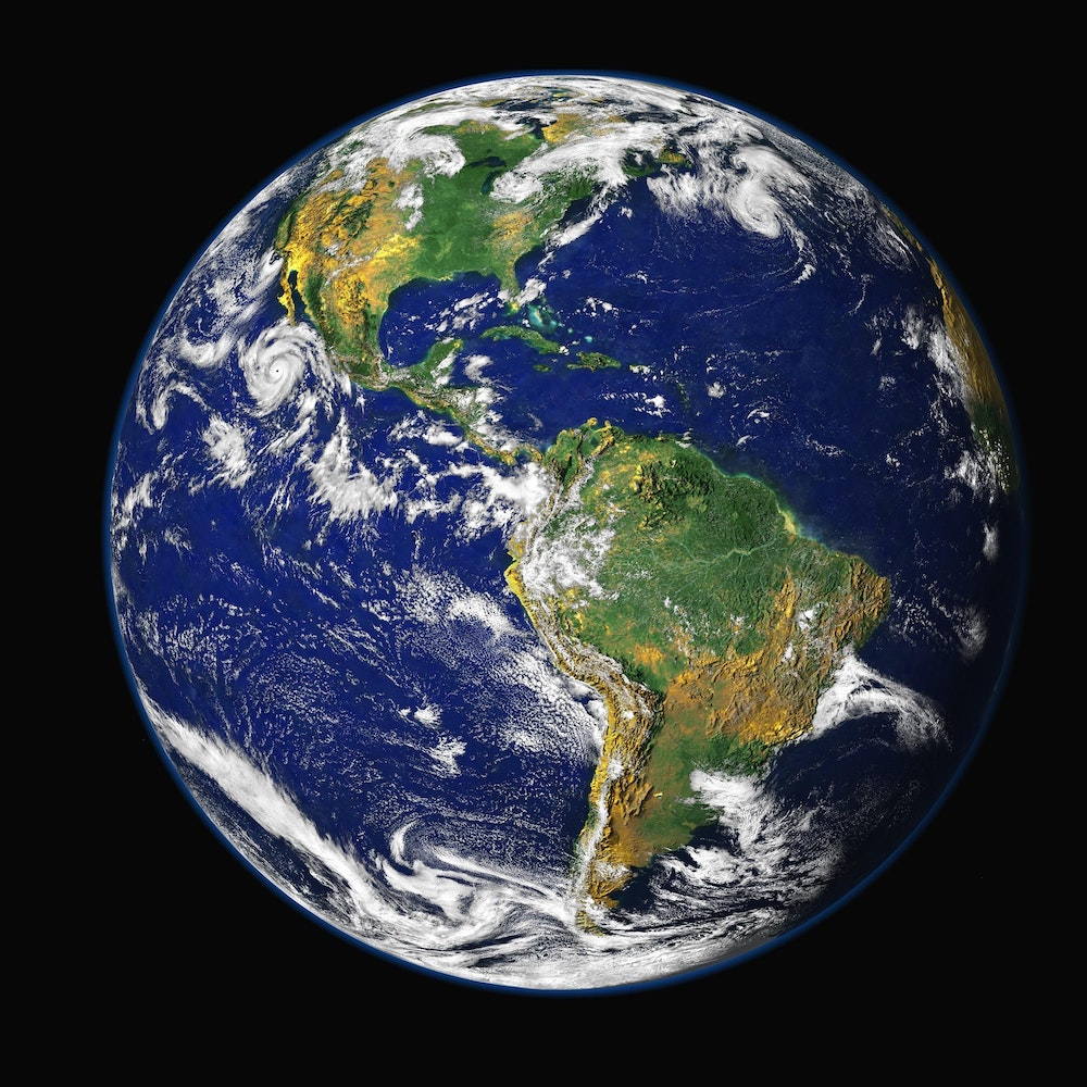 An image of the Earth