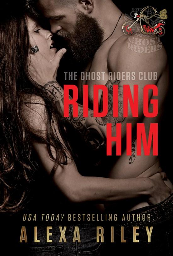 Riding him