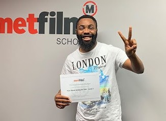 Woli Arole graduates from Met film school in UK