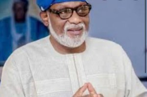BREAKING: Ondo State Governor, Akeredolu tests positive for COVID-19