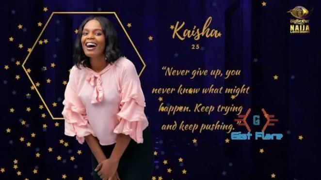 Kaisha BBNaija Biography