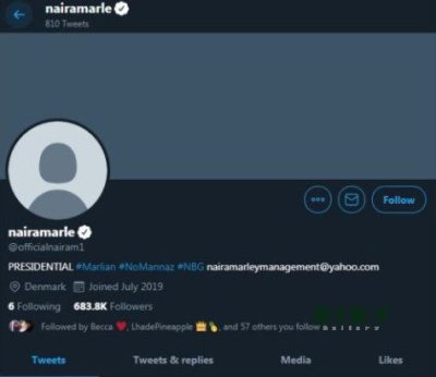 Naira Marley Recovers Official Twitter Account Taken Over By Denmark Hacker